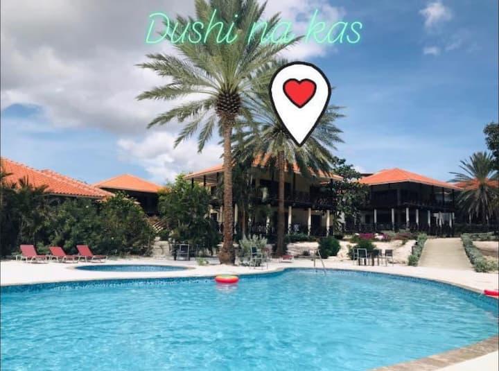Heerlijk appartement in Blue Bay Resort willemstad