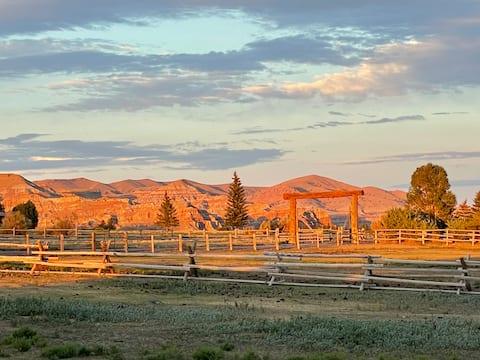 100 Jahre alte Cowboyhütte
