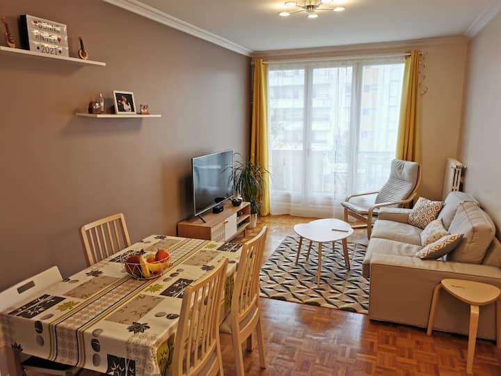 Chambre Privée -  Appartement cosy