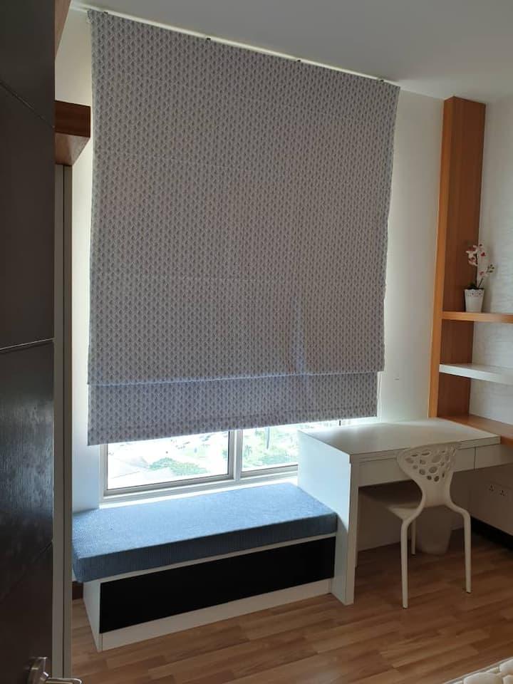 Cozy  relaxing ambience 1bedroom.G