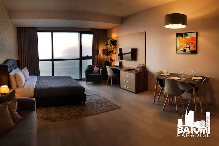 Modern Beachfront Studio in Batumi