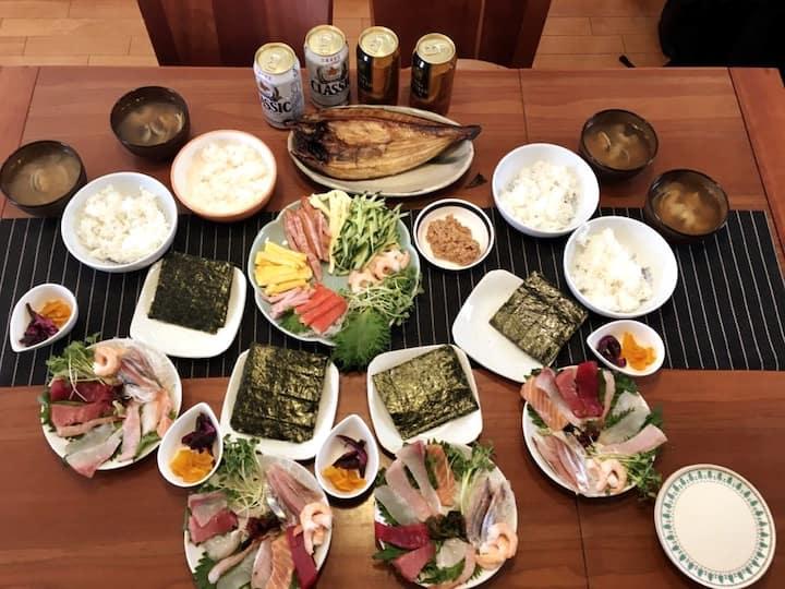 Enjoy Japanese home style foods