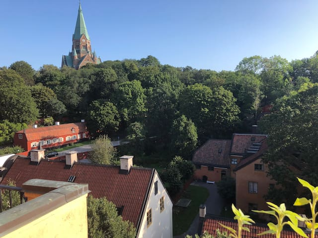 Cosy apartment with the best view in Södermalm