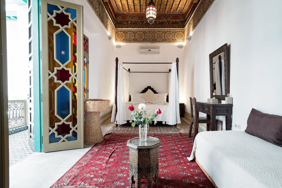 Riad LakLak—17th-Century Property With Massive Roof Terrace