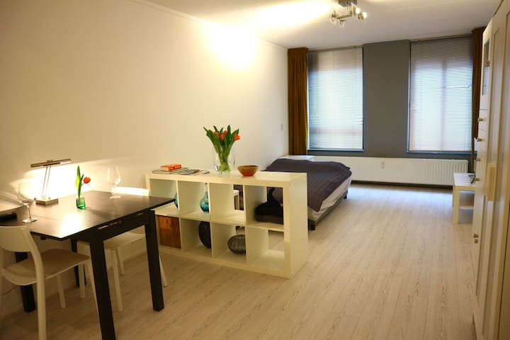 Modern & spacious studio apartment in city center