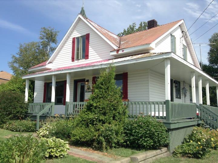 Maison de campagne champêtre