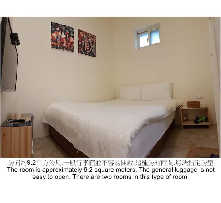 超值小小雙人房 · 宜蘭羅東夜市 幸福YES民宿B&B旗艦館 (合法住宿編號0235號)
