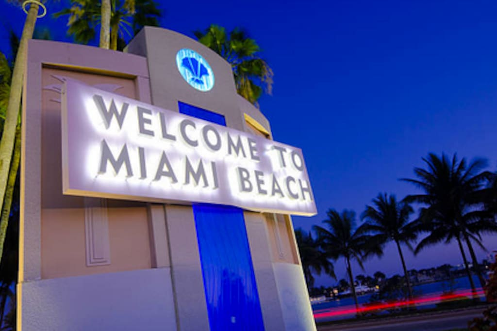 Welcome to Miami Beach  :)