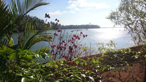 Ashirvad Homestay, Ashtamudi Lake, Kollam NON AC