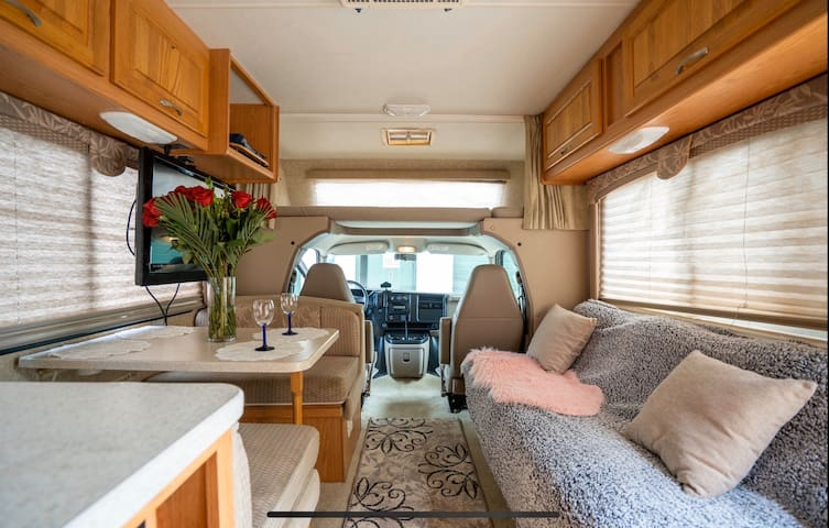 Super mobile home that has everything you need