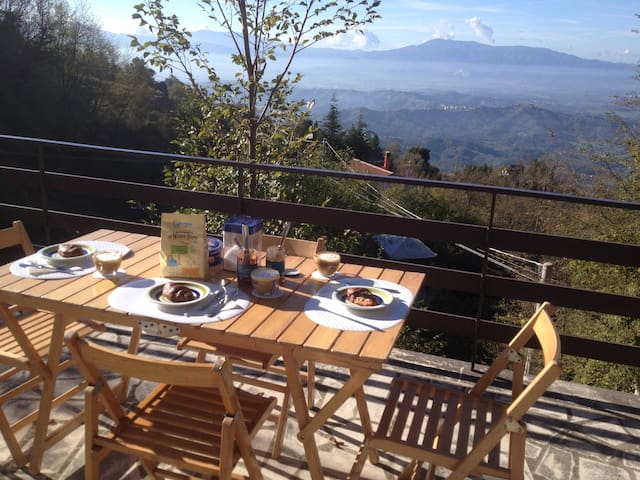 Good All Year - mountain villa southeast of Rome