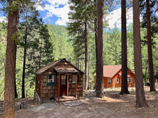 Cute Rustic Cabin in the Woods!