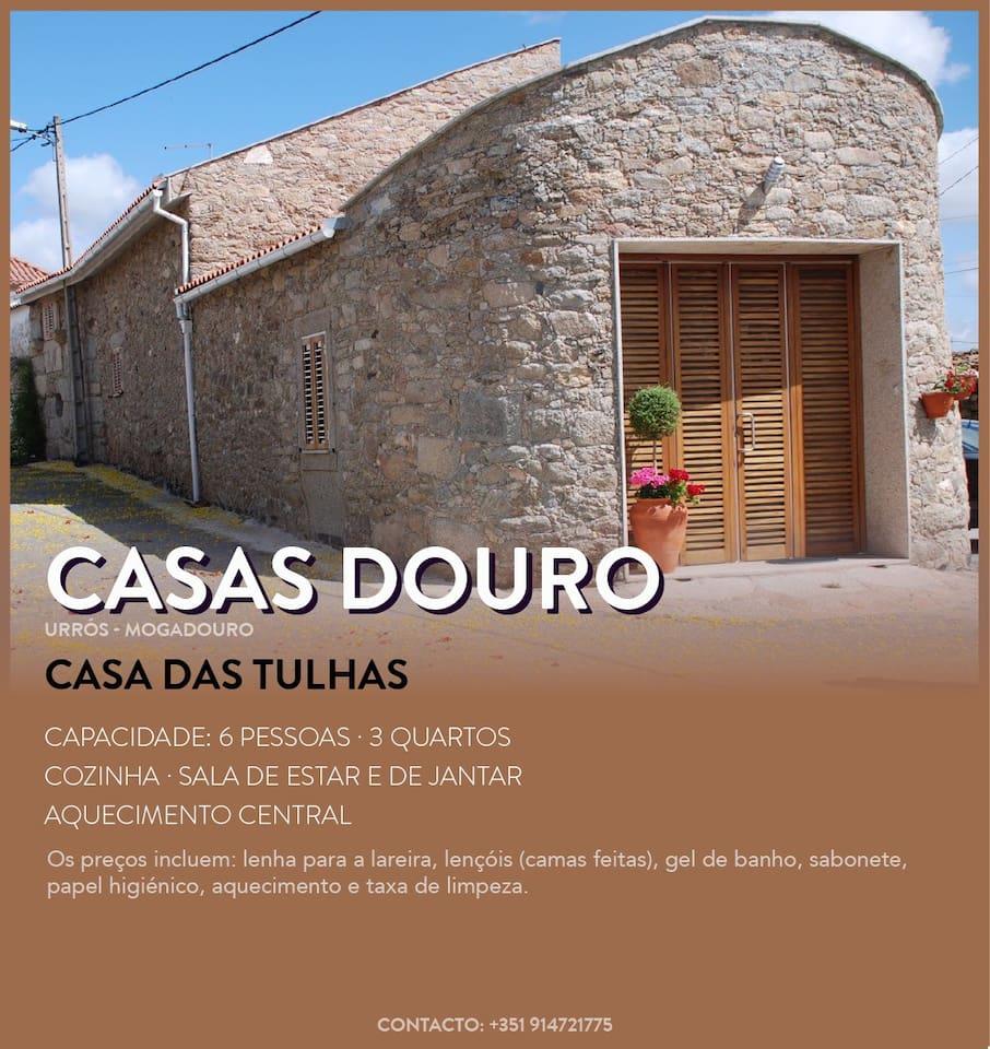 Casa das Tulhas  - Urrós - Parque Natural do Douro Internacional- Reserva da Biosfera Transfronteiriça Meseta Ibérica - UNESCO