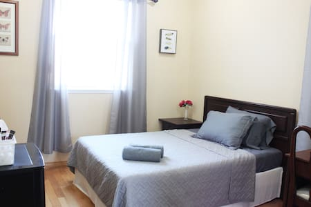 Be in a private and comfy upstairs room.
