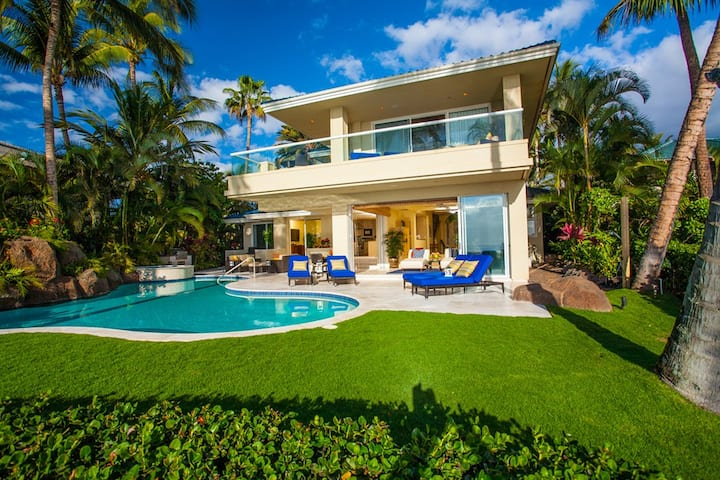 BEACHFRONT OPAL SEAS! WORK & STUDY FROM YOUR OWN PRIVATE PARADISE ON MAUI!