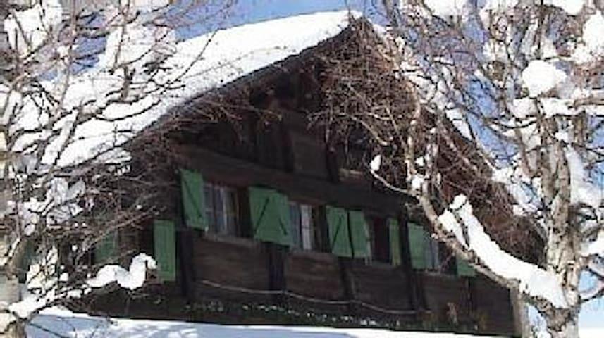 La Ferme d'Amélie - Saint-Gervais-les-Bains - กระท่อมบนภูเขา
