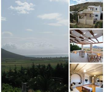 PAROS ISLAND- VILLA ARCHILOCHOS ( SEA VIEW VILLA) - Paros - Villa