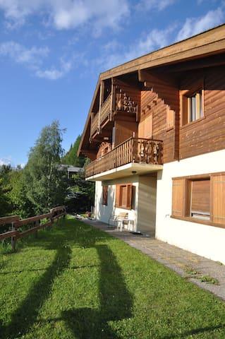 Superbe appartement 6-8 personnes à Veysonnaz - Nendaz - Pis