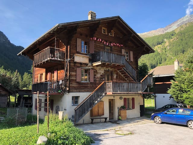 Charming duplex in a Swiss Chalet
