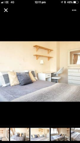 Immaculate Double Bedroom with Unlimited WiFi.