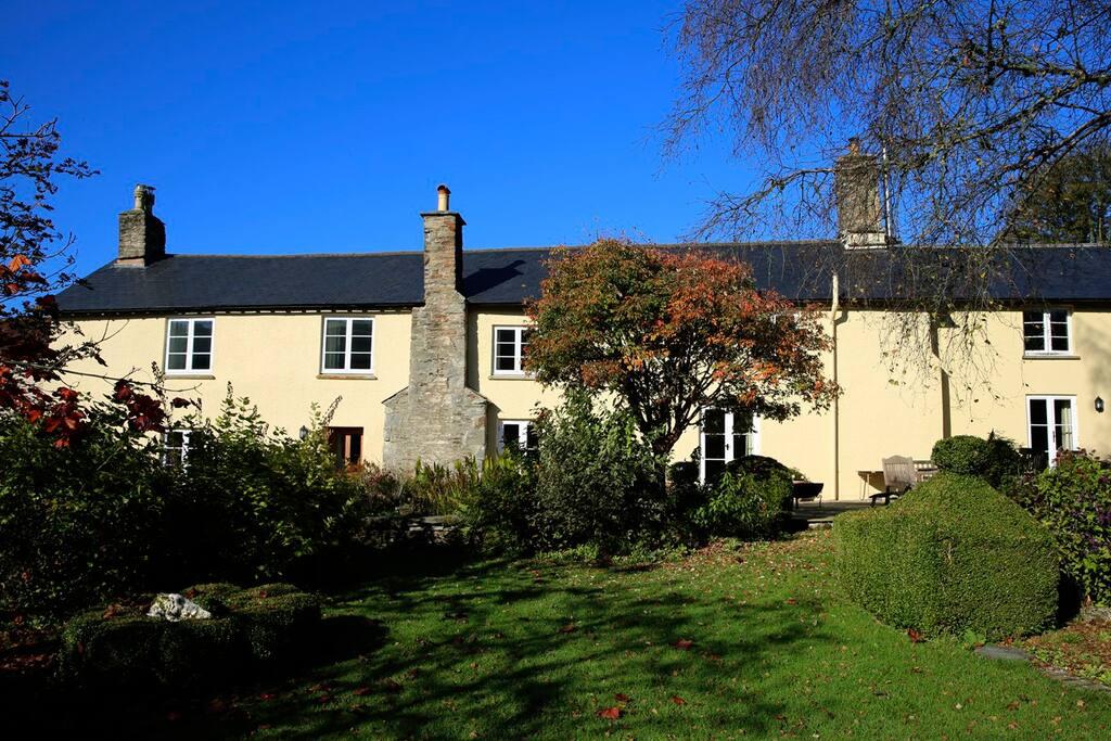 Our pretty cottage garden
