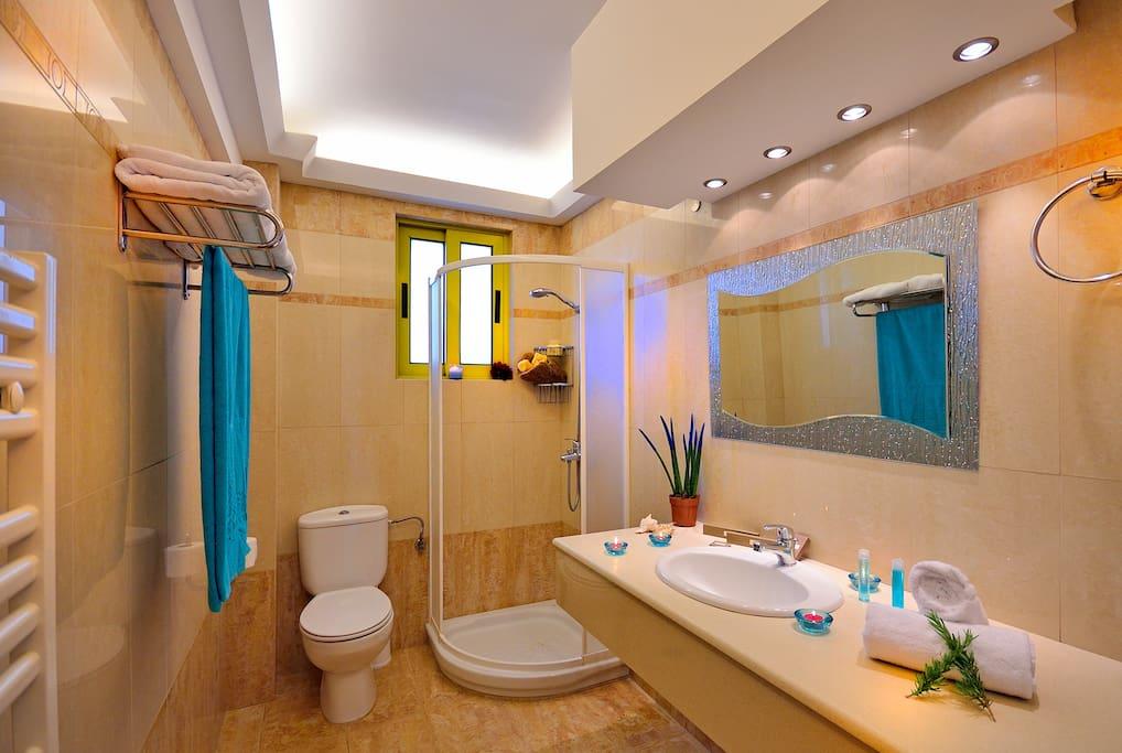 Crystal clean Bathroom