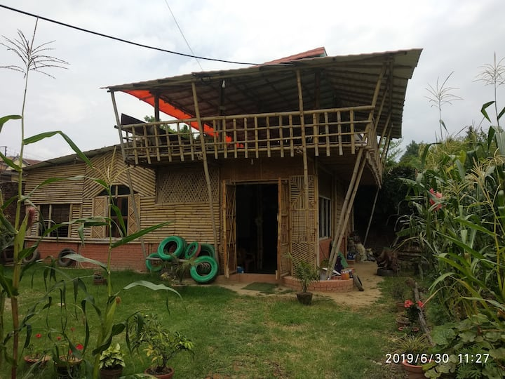 Gautam's House.