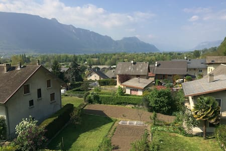 "Simple appartement, calm 5 min of ""lac du bourget"" - Voglans - Wohnung"