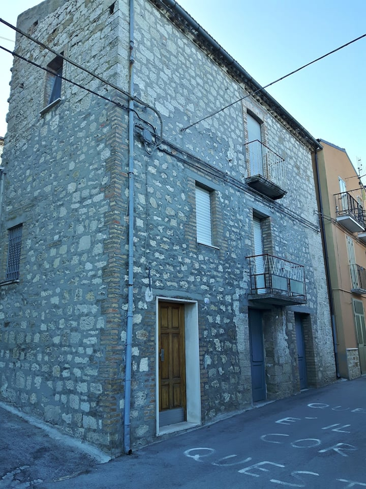 House in quiet Italian Village (an Old Bakery)
