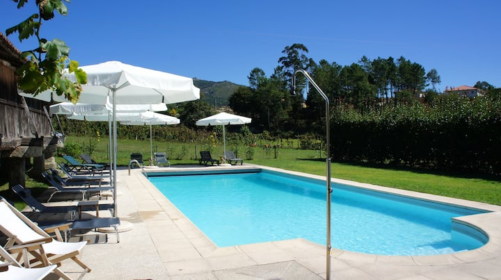 House with 2 bedrooms in Vieira do Minho, with shared pool, enclosed garden and WiFi