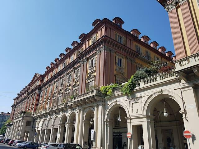 Romantic, bright loft in a historical building