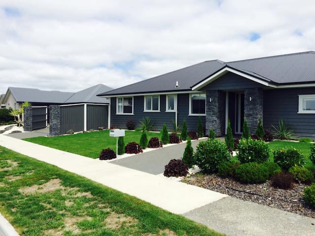 Comfortable stay in luxury home - Kaiapoi - Hus