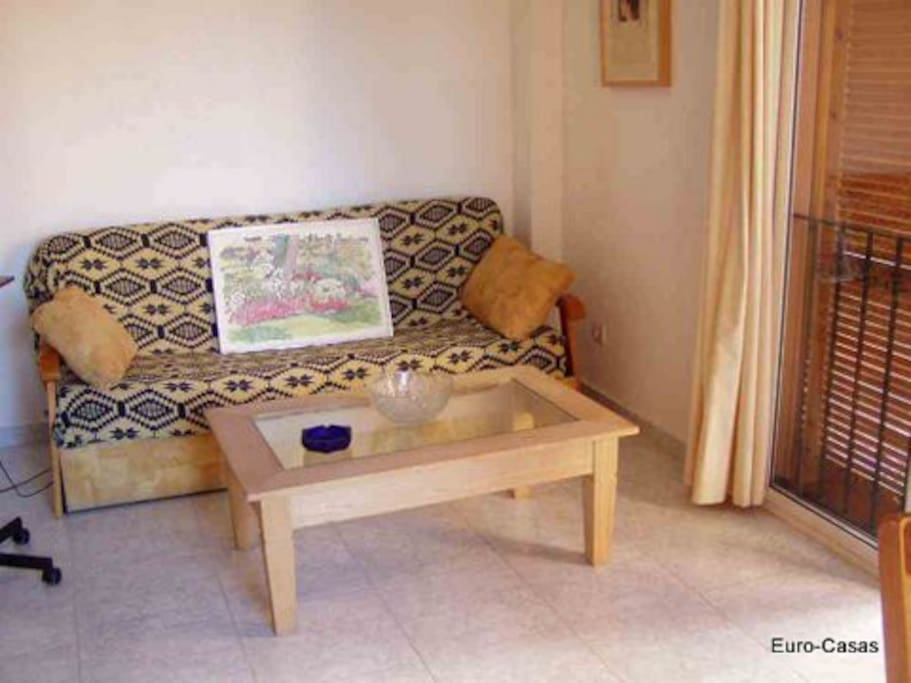 sofá cama salón comedor
