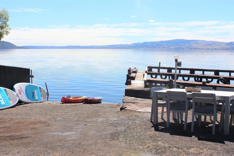 1 Private boat ramp and jetties on Lake Rotorua
