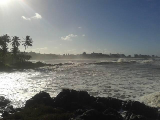Vista de Ilhéus da Praia da Concha