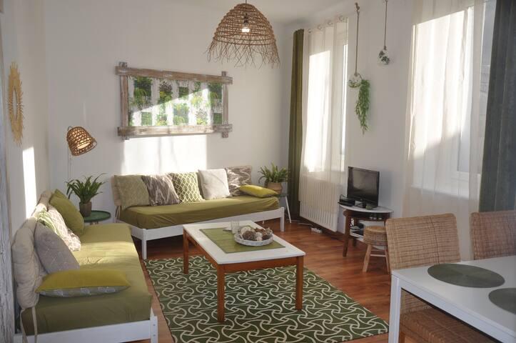 Appartement cosy au pied des montagnes