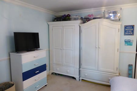 Large newly decorated ensuite double room - Bournemouth - Apartment