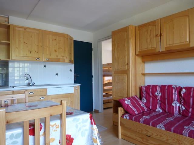 Appartement au pied de pistes - Villarembert - Wohnung