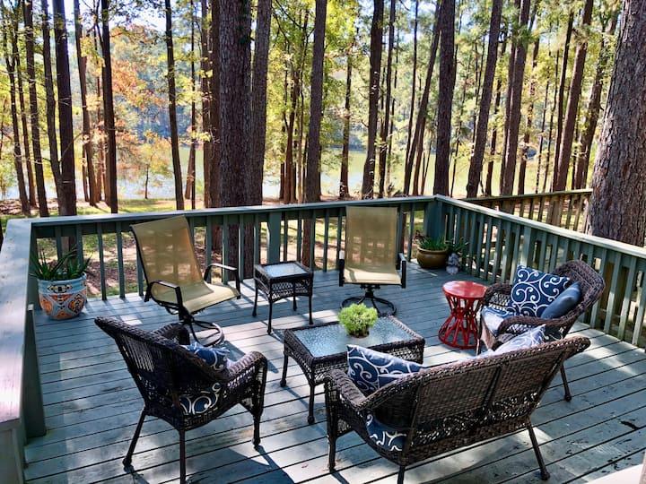 """The Lake House """"Treehouse"""" on Lake Livingston"""