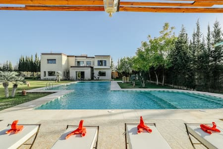 Private Villa + Pool, 20min from Marrakech