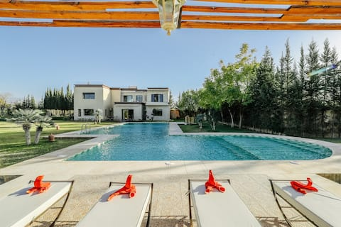 Private Villa + Pool , 20min from Marrakech
