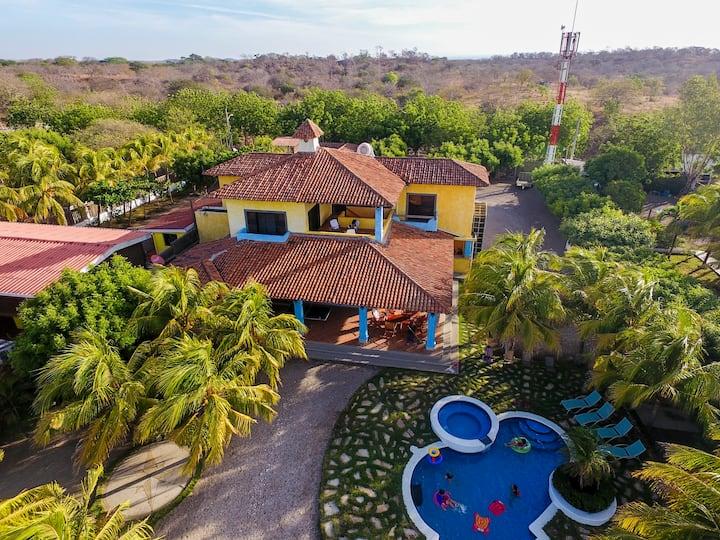 Spectacular Spanish beachfront home