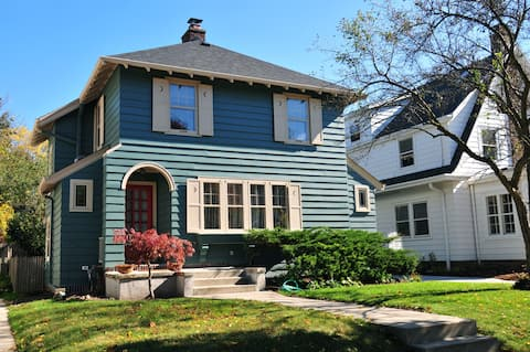 A Real Gem-Historic Restored American Four Square
