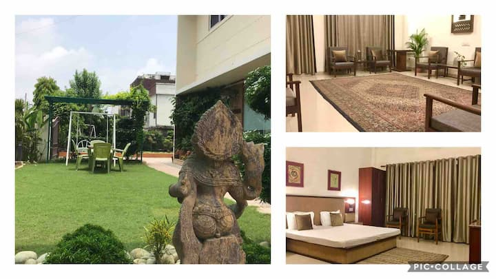 Serene 4 BHK with a Private Garden-City Centre