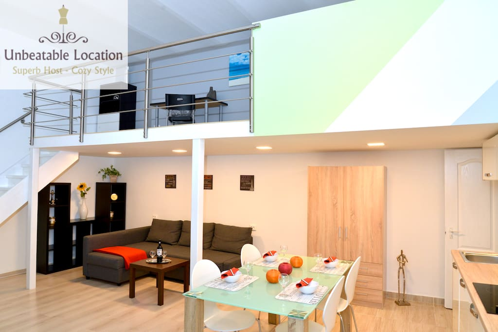 NEW modern Apartment ACE LOCATION with