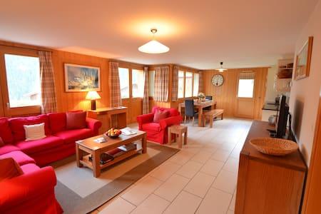 Ski in - ski out apartment in beautiful Grimentz - Grimentz - 公寓