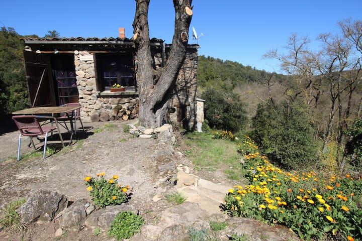 Gîte nature Aude avec WIFI terrasse Pays Cathare - Laroque-de-Fa