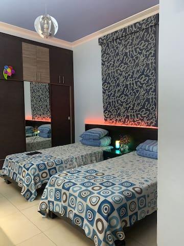 Bedroom in Dekwaneh, calm neighbourhood