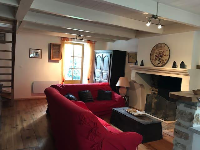 Maison de caractére en Champagne