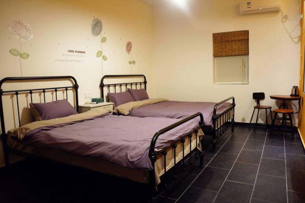 亲子房(1.5+1.2米床)